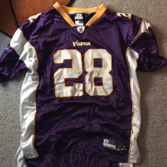 factory authentic 1f98b e3055 Minnesota Vikings Adrian Peterson Kids XL jersey